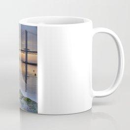 The Forth Road Bridge Sun Set Coffee Mug