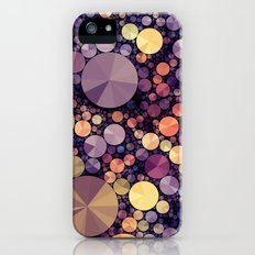Purple Berries iPhone SE Slim Case
