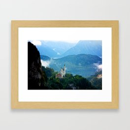 Neuschwanstein Castle Framed Art Print