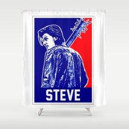 Steve Stranger Thing Shower Curtain