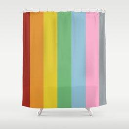 Pillars of Colour Shower Curtain