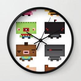 Boxies Wall Clock