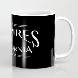 Vampires Of California Black and White Coffee Mug