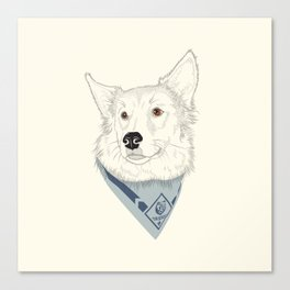 The Good Scout Canvas Print