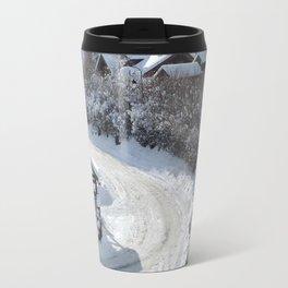 Alpine village Travel Mug