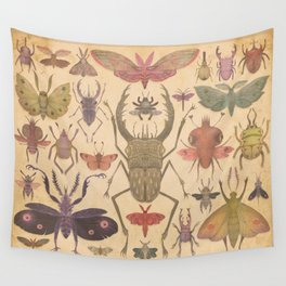 Entomologist's Wish Wall Tapestry