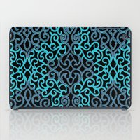 celtic iPad Cases featuring celtic blue by Ariadne