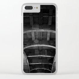 belly of the whale Clear iPhone Case