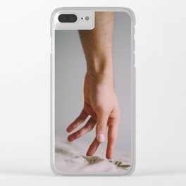 Love to Waste it Clear iPhone Case