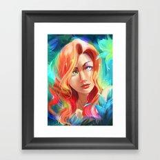 Mad Eye Framed Art Print