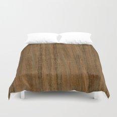 Etomie (Flat Cut) Wood Duvet Cover