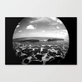 set wave Canvas Print