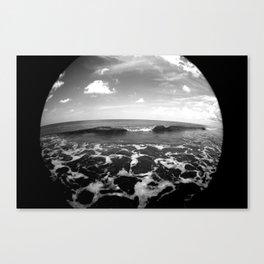 set wave Canvas Print