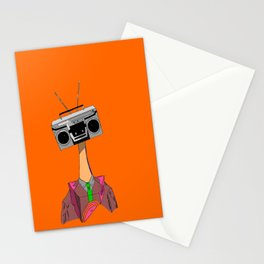The Music in your Head Suits You Perfectly Stationery Cards