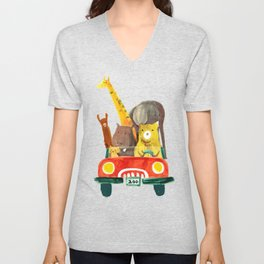 77b4f826d Cat V Neck T Shirts | Society6