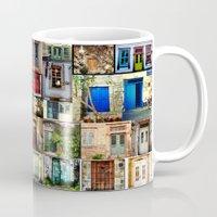 door Mugs featuring door by gzm_guvenc