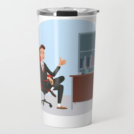 Big Boss National Boss Day Travel Mug