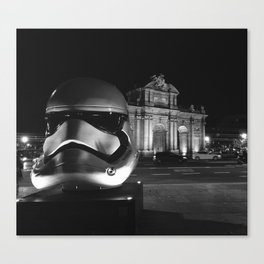 Imperial Madrid Canvas Print