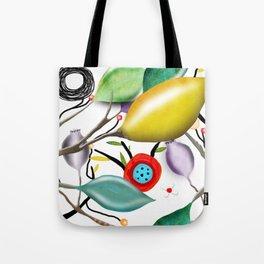 Cinque Terre - Lemons Lemon - Italian Riviera - Limoni Lemon Pattern Home Decor Tote Bag