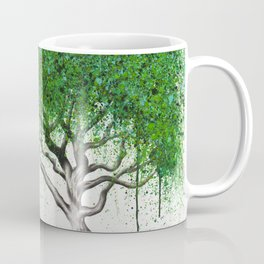 Green Breeze Tree Coffee Mug