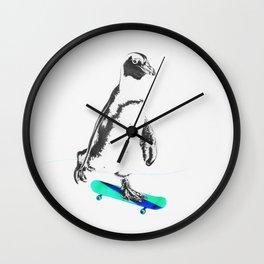 African Penguin Wall Clock