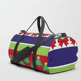 christmas pattern Duffle Bag