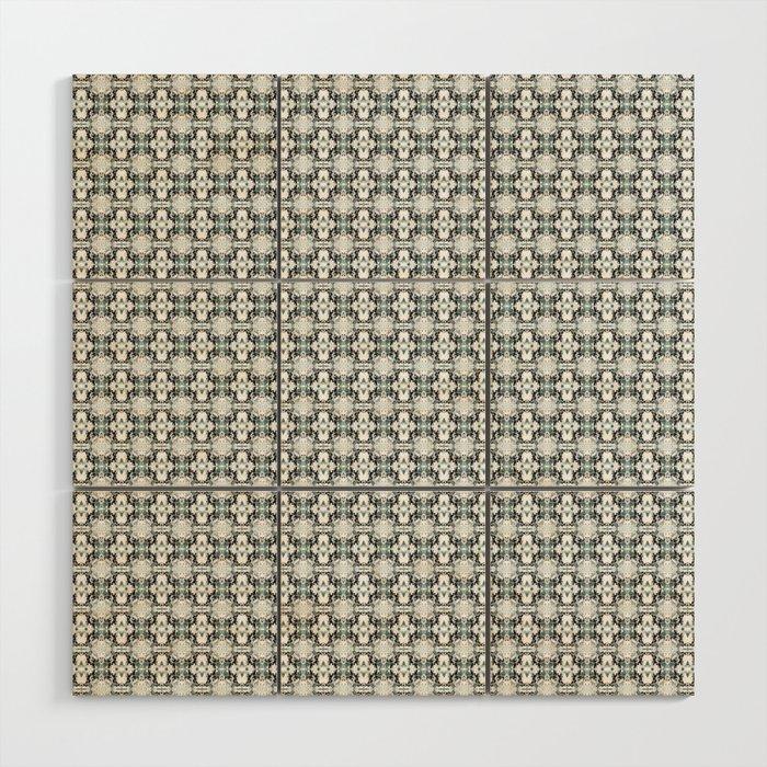 grey basket weave Wood Wall Art
