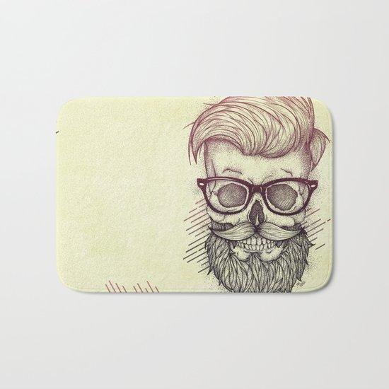 Hipster is Dead Bath Mat