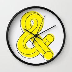 Ampersand Wall Clock