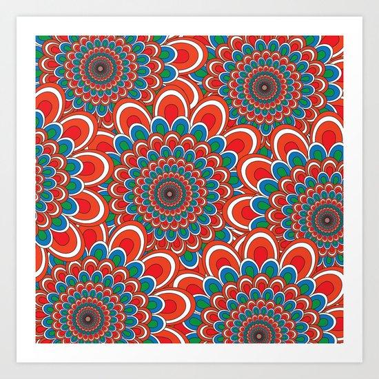 Pattern F Art Print