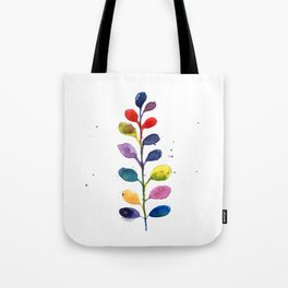 Rainbow Fern Tote Bag