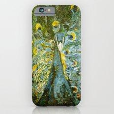 Green Peacock  iPhone 6s Slim Case