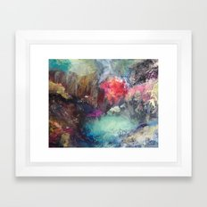Strength and Happiness  Framed Art Print