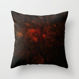 BloodFlower Throw Pillow