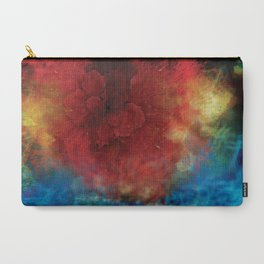 Space Bloom Carry-All Pouch