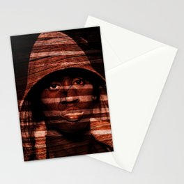Dark behind the shutter. Stationery Cards