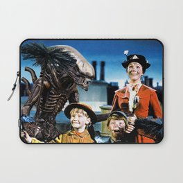 Alien in Mary Poppins Laptop Sleeve