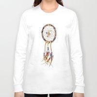 spiritual Long Sleeve T-shirts featuring Spiritual Dreamcatcher by Bruce Stanfield Photographer