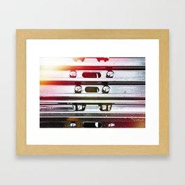 caterpillar of tractor Framed Art Print