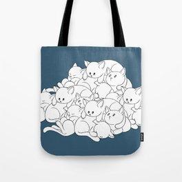 Pile o' Kitties Tote Bag