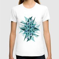 cracked T-shirts featuring Cracked Icicles by AJJ ▲ Angela Jane Johnston