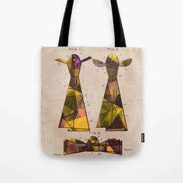 patent Tie - 1902 - Glahn Tote Bag