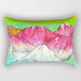 The watermelon hills Rectangular Pillow