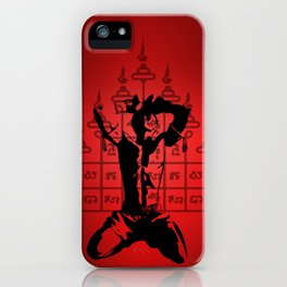 Warrior Spirit iPhone Case