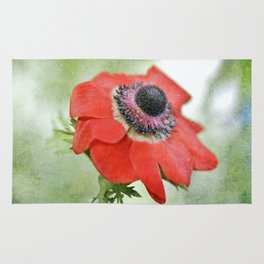Red Anemone Rug