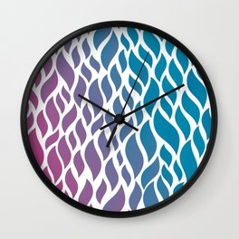 Color Flow Wall Clock