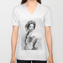 Princess of France Unisex V-Neck