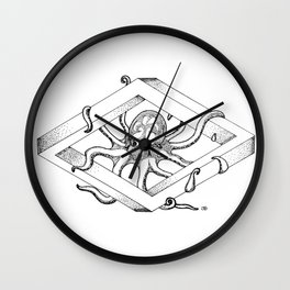 Infinite Octopus Wall Clock