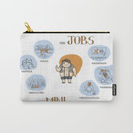 Minijobs (Spanish version) Carry-All Pouch