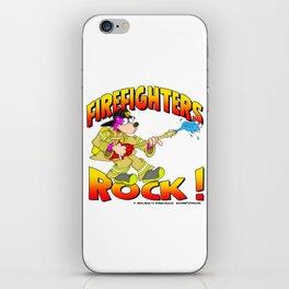 Firefighters Rock Merchandise iPhone Skin